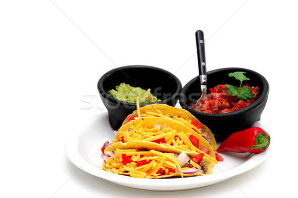 Stock photo: Hard Shell Taco