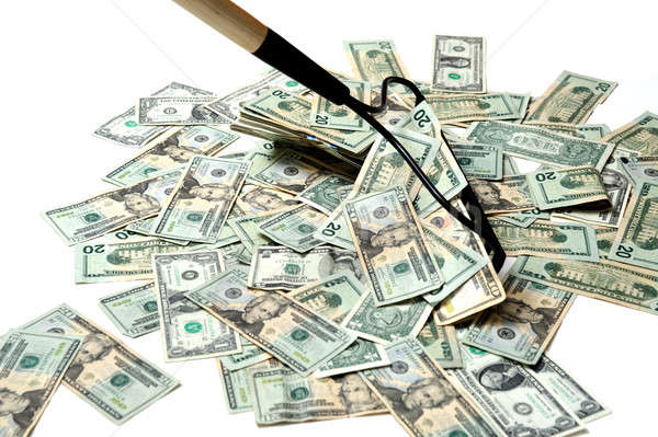 Raking In The Cash Stock photo © bendicks