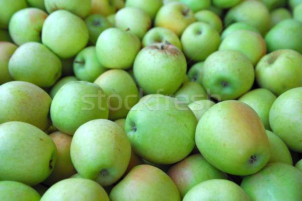 Verde manzana frescos manzanas naturaleza salud Foto stock © bendicks