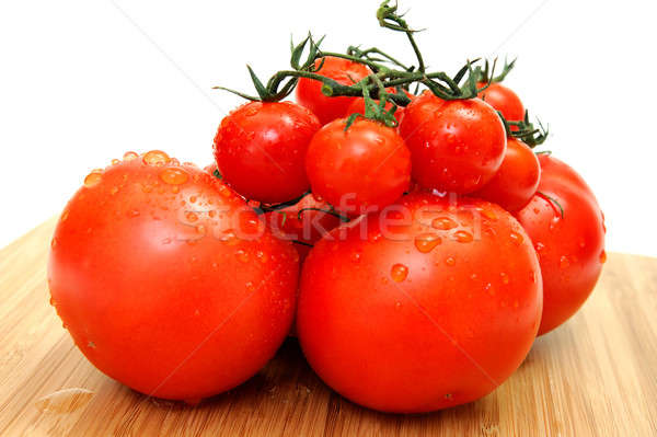 Large And Small Tomato Stock photo © bendicks