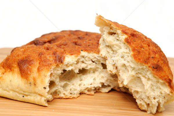 Pan cuadrados pan esquina desgarrado Foto stock © bendicks