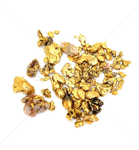 Gold Nugget Stock photo © bendicks