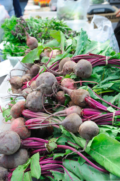 Whole Beets With Tops Stock photo © bendicks
