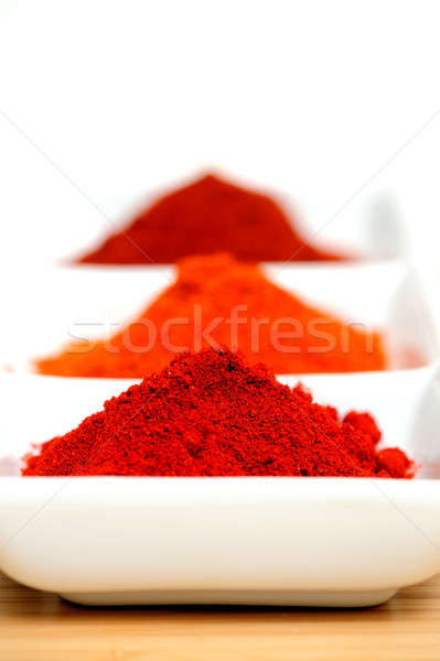 Chili Powder Stock photo © bendicks