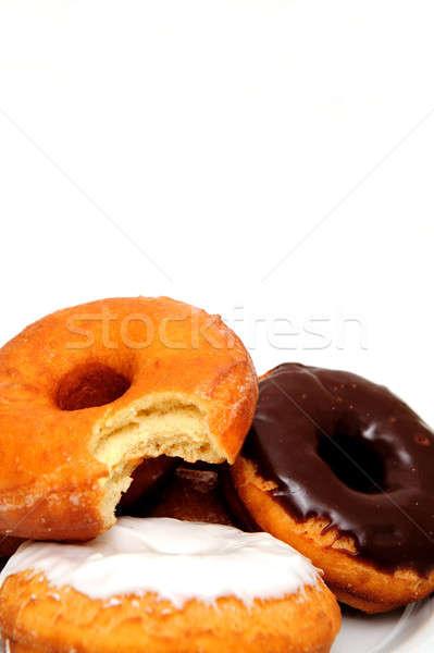 Breakfast Doughnut Stock photo © bendicks