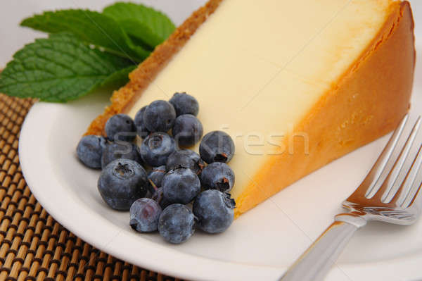 Blueberry and Cheese Cake Stock photo © bendicks