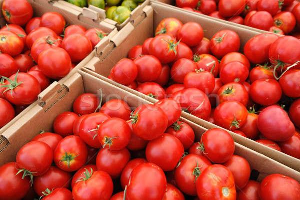 Summer Tomatoes Stock photo © bendicks