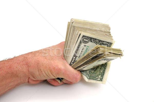 Puno completo dólares Estados Unidos uno Foto stock © bendicks