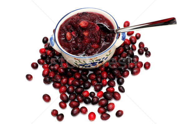 Cranberry Sauce Stock photo © bendicks