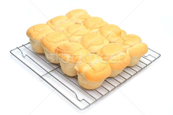 Heat And Serve Biscuits Stock photo © bendicks