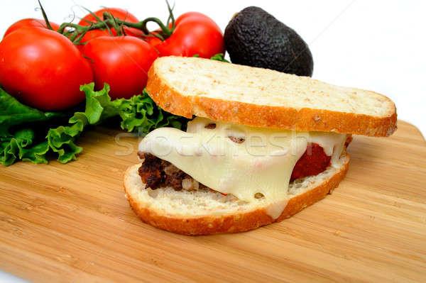 Meatloaf Sandwich Stock photo © bendicks