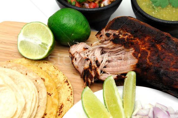 Mexican Carnitas Stock photo © bendicks