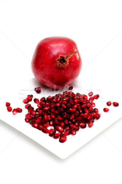 Pomegranate Seeds Stock photo © bendicks