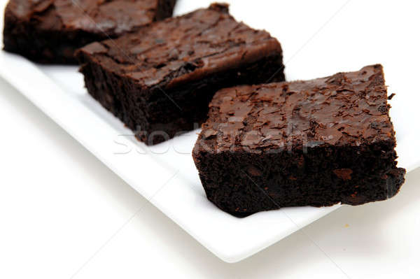 Chocolate Brownie Stock photo © bendicks