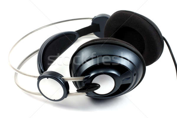 Musique isolé blanche fond micro Photo stock © bendzhik