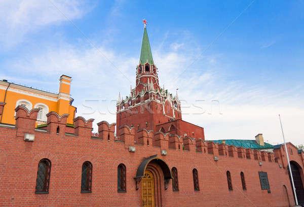 Moskou Kremlin ontwerp baksteen patroon Stockfoto © bendzhik