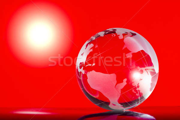 Globe Stock photo © bendzhik