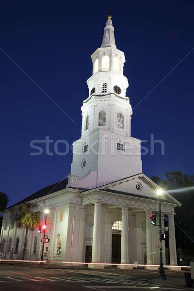 Church in Charleston Stock photo © benkrut