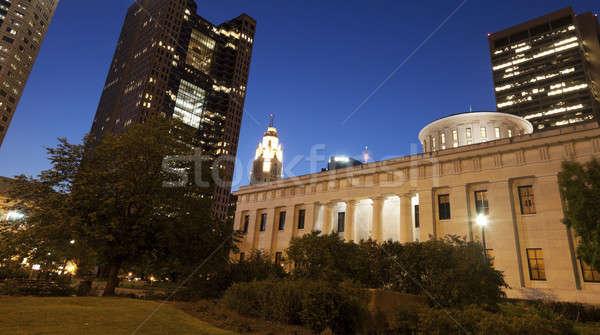 Columbus - State Capitol Building Stock photo © benkrut