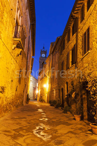 Pienza old town Stock photo © benkrut