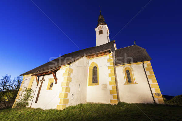 Saints Primus and Felician Church in Maria Worth Stock photo © benkrut