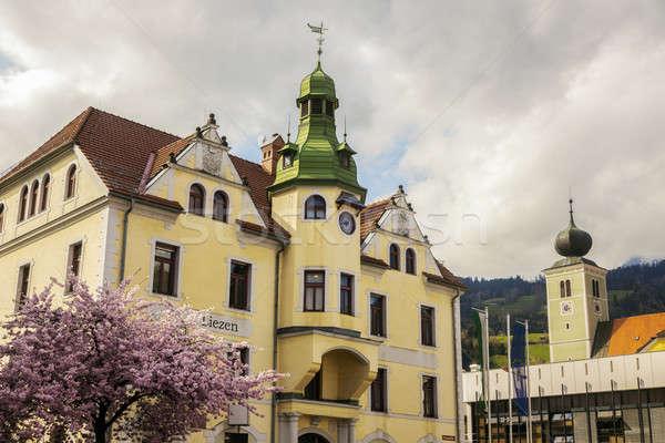 City Hall in Liezen, Austria Stock photo © benkrut