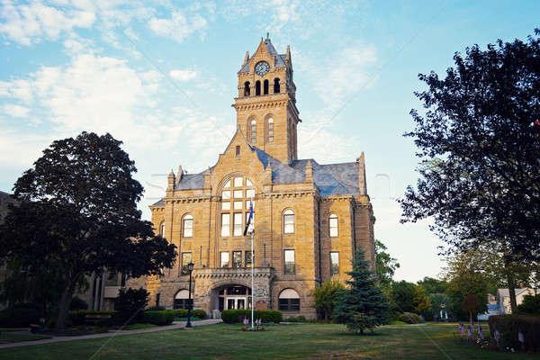 Ottawa County Courthouse   Stock photo © benkrut