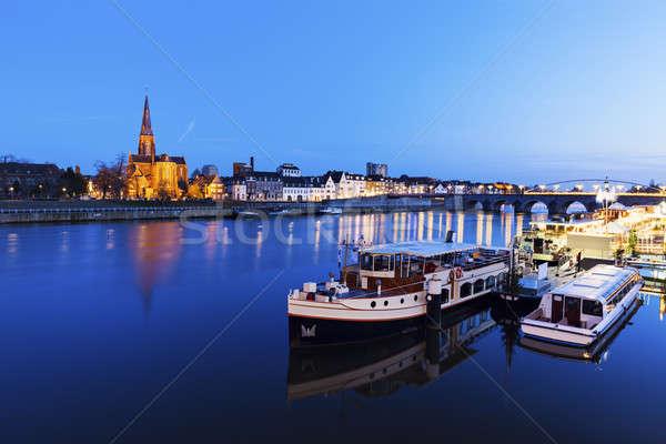 Meuse River in Maastricht Stock photo © benkrut