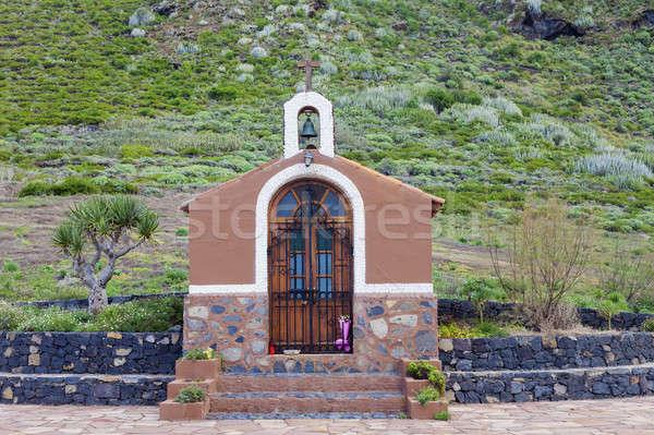 Small chapel on Tenerife Stock photo © benkrut