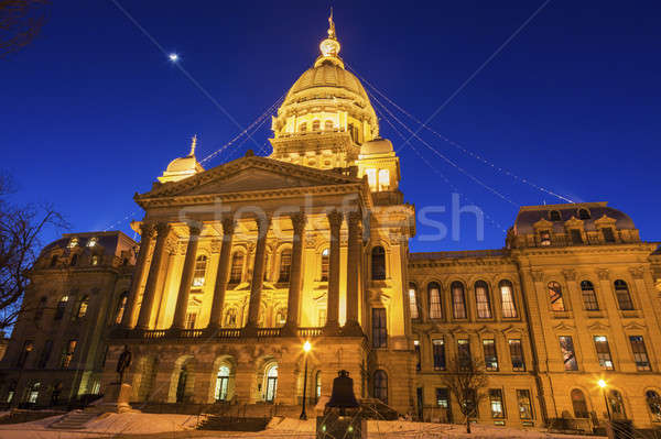 Springfield, Illinois - State Capitol Building Stock photo © benkrut