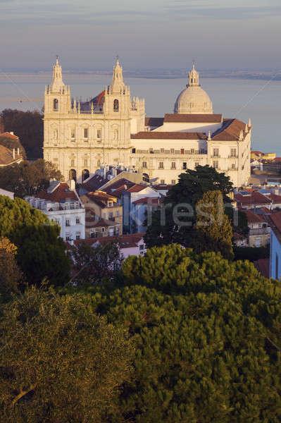 Sao Vicente de Fora Monastery   Stock photo © benkrut