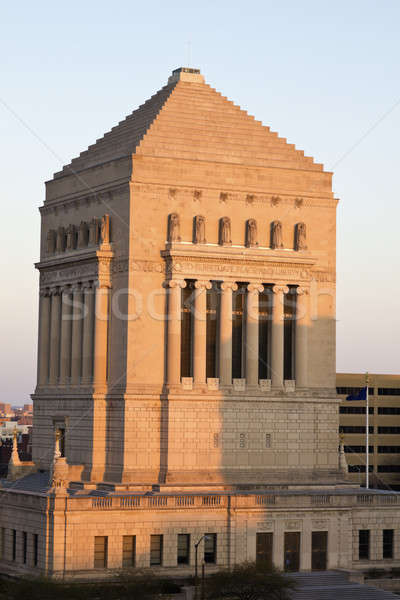 Indiana világ háború város utazás Stock fotó © benkrut