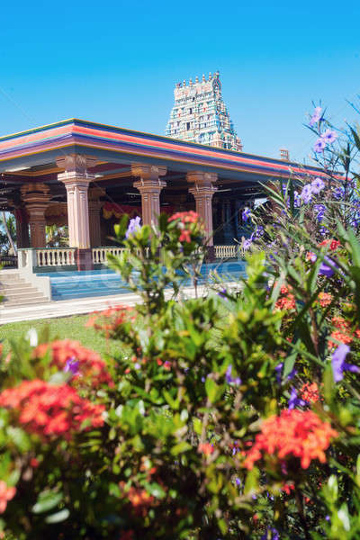 Sri Siva Subramaniya Swami Hindu Temple in Nadi Stock photo © benkrut