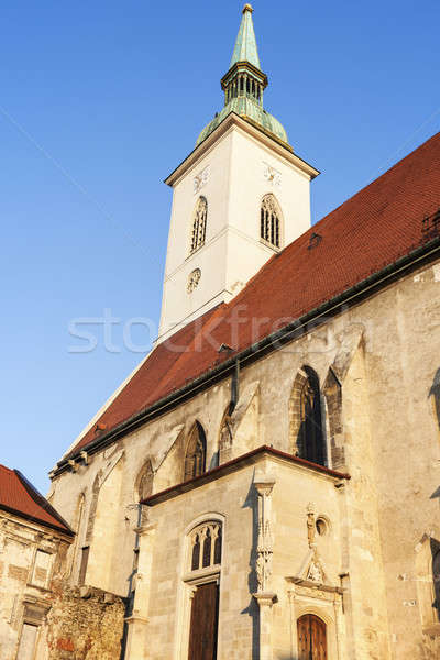St. Martin's Cathedral in Bratislava Stock photo © benkrut
