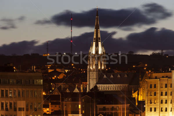 Saint Eugene's Cathedral in Derry Stock photo © benkrut