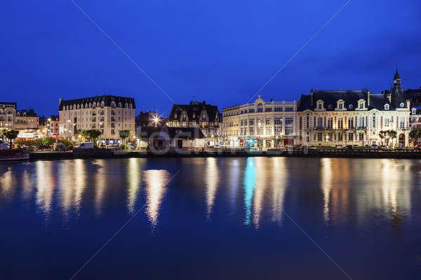 Panorama of Trouville-sur-Mer  Stock photo © benkrut