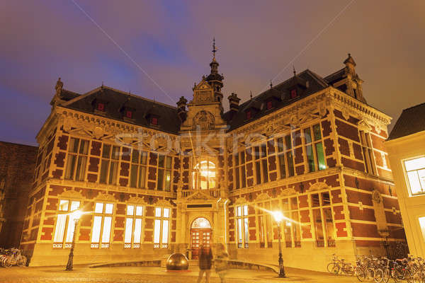 Academy building of the University of Utrecht  Stock photo © benkrut