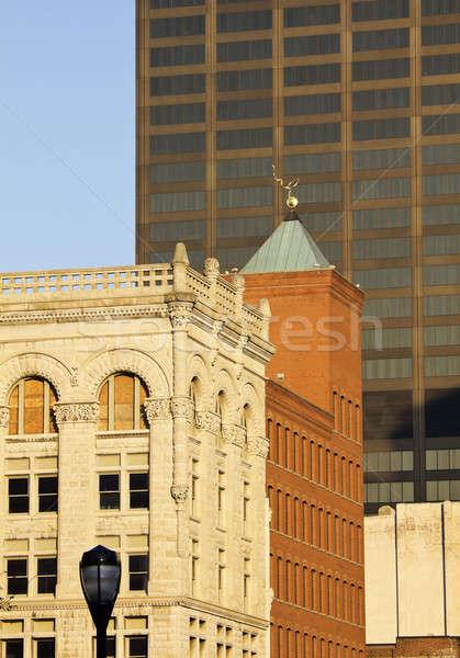 Stockfoto: Oude · nieuwe · gebouwen · centrum