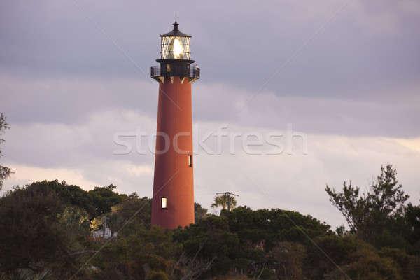 Jupiter Inlet  Lighthouse  Stock photo © benkrut