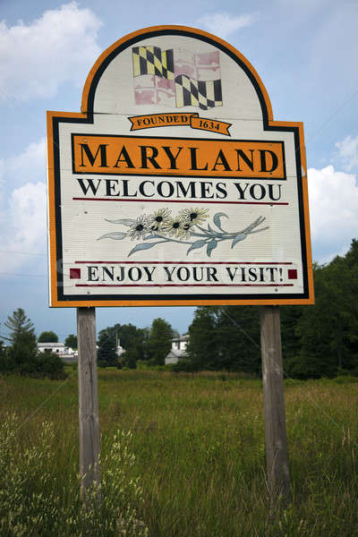 Welcome to Maryland Stock photo © benkrut