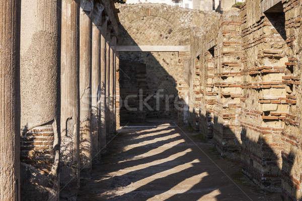 Ruins of Herculaneum Stock photo © benkrut