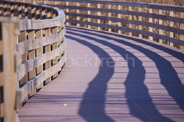 Walking deck in Antigo Stock photo © benkrut