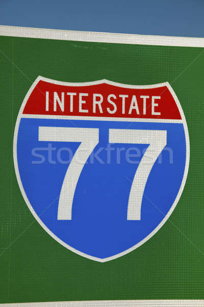 Highway 77 Stock photo © benkrut