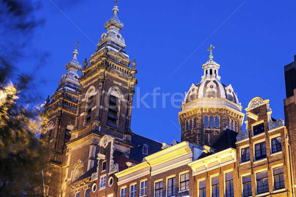 Basilica of St. Nicholas  Stock photo © benkrut