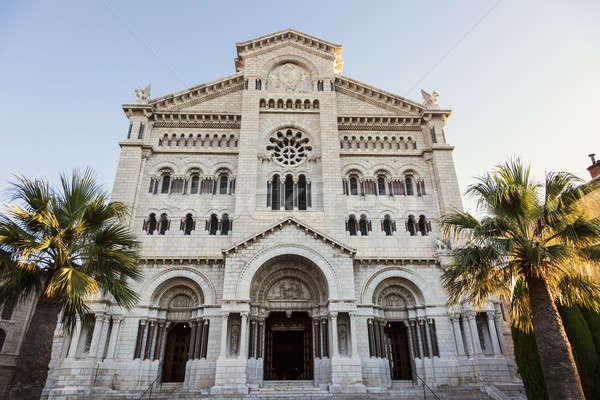 Монако собора святой город путешествия архитектура Сток-фото © benkrut