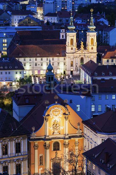Katharinenkirche Stock photo © benkrut