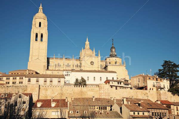 Segovia vista Stock photo © benkrut