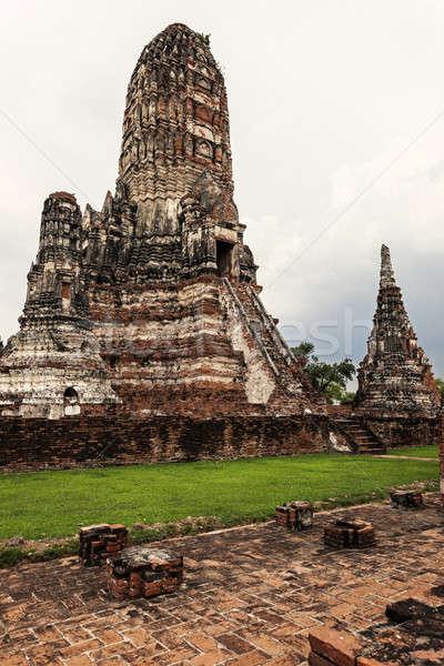 руин старые город пейзаж путешествия Азии Сток-фото © benkrut