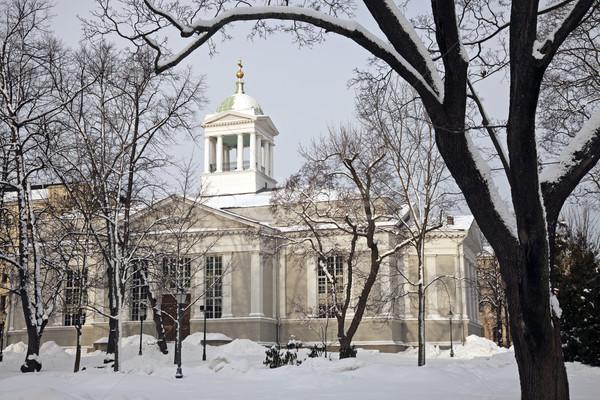 Kościoła Helsinki Finlandia Zdjęcia stock © benkrut
