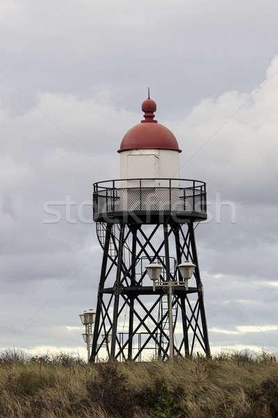 Small lighthouse in Scheveningen  Stock photo © benkrut